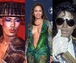 Grammy 2021. Przypominamy kreacje z czerwonego dywanu, które PRZESZŁY DO HISTORII mody: Cher, Michael Jackson, Dolly Parton, Lady Gaga (STARE ZDJĘCIA)