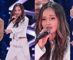 """Marina Łuczenko z napisem na KROCZU wystąpi w finale """"The Voice Kids""""! Zadziorna? (ZDJĘCIA)"""