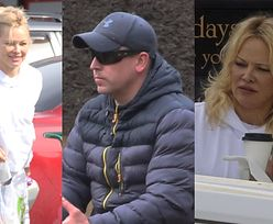 Rześka Pamela Anderson dostarcza PIĄTEMU MĘŻOWI ciepły posiłek do pracy (ZDJĘCIA)