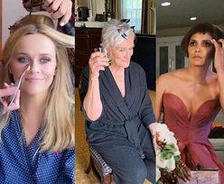 Oscary 2021: Tak gwiazdy szykowały się ZA KULISAMI na wielką galę: Reese Witherspoon, Glenn Close, Halle Berry (ZDJĘCIA)