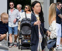 Małgorzata Rozenek na rodzinnym spacerze z Radkiem, dziećmi, rodzicami, bratem i... jego NOWĄ PARTNERKĄ (ZDJĘCIA)