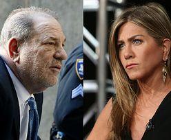 """Harvey Weinstein sugerował, że Jennifer Aniston powinna """"ZOSTAĆ ZAMORDOWANA"""""""