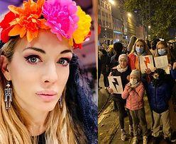 """Izabella Łukomska-Pyżalska wspiera protest kobiet swoim NAGIM, CIĄŻOWYM ZDJĘCIEM: """"Moje ciało, mój wybór!"""" (FOTO)"""