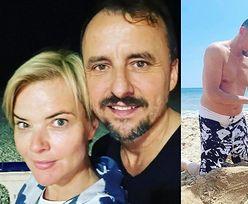 """Monika Richardson dokazuje na hiszpańskiej plaży z Konradem Wojterkowskim: """"Niewiele potrzeba do SZCZĘŚCIA"""" (ZDJĘCIA)"""