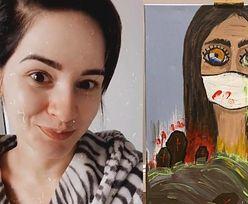 """Ewelina Lisowska przelewa na płótno APOKALIPTYCZNE wizje: """"Mam taki problem, że więcej nie umiem"""""""