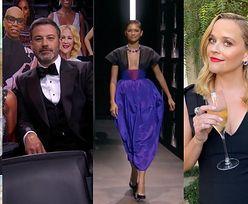 Emmy 2020. Triumfująca Zendaya w dwóch kreacjach, Jennifer Aniston w piżamie i kartonowa publiczność... (ZDJĘCIA)