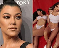 Kourtney Kardashian odgrywa się na siostrach, pozując w KUSYCH MAJTECZKACH (FOTO)