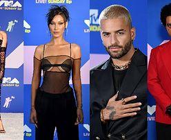 """MTV Video Music Awards 2020 rozdane! Olśniewająca Miley Cyrus, odważna Bella Hadid, """"pobity"""" The Weeknd (ZDJĘCIA)"""