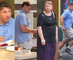 Andrzej Gołota z mamą Bożenną raczą się pysznym obiadem w stołecznym barze mlecznym (ZDJĘCIA)