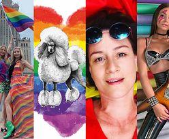 Gwiazdy wspierają Paradę Równości: Maja Ostaszewska, Anja Rubik, Jessica Mercedes, Julia Wieniawa... (ZDJĘCIA)