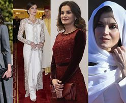 Hiszpańska królowa Letizia zachwyca wyczuciem stylu w trakcie wizyty w Maroko (ZDJĘCIA)