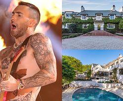 Adam Levine sprzedaje rezydencję za... 47 MILIONÓW DOLARÓW (ZDJĘCIA)