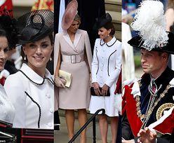 Dostojna księżna Kate i zblazowany książę William w czapce z piórem witają Royalsów z Europy na zamku w Windsorze (ZDJĘCIA)