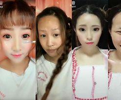 """Nowy urodowy hit: Chinki """"RZEŹBIĄ"""" sobie twarze! Zobaczcie, jak wyglądają naprawdę... (ZDJĘCIA)"""