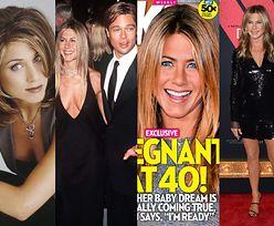 """Od """"Przyjaciół"""" do ulubionej """"ofiary"""" tabloidów: Jennifer Aniston kończy dzisiaj 50 LAT! (ZDJĘCIA)"""