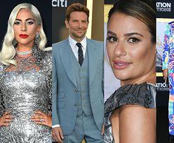"""Posągowa Lady Gaga i skromny Bradley Cooper na premierze """"Narodzin Gwiazdy"""" (ZDJĘCIA)"""