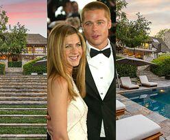 Były dom Jennifer Aniston i Brada Pitta został wystawiony na sprzedaż! Za równowartość 213 MILIONÓW złotych... (ZDJĘCIA)