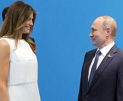 Melania też poznała Putina! Był pod wrażeniem? (ZDJĘCIA)