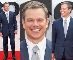 """Roześmiany Matt Damon na premierze nowego """"Bourne'a"""" (ZDJĘCIA)"""