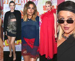 Paris Jackson, ciężarna Kerr, tajemnicza Aguilera i wystrojona Perry na imprezie u Stelli McCartney (ZDJĘCIA)