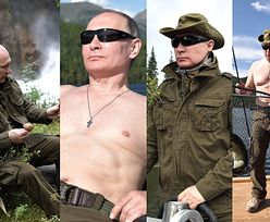 Wakacje Putina na Syberii: Zbiera grzyby i łowi ryby (ZDJĘCIA)