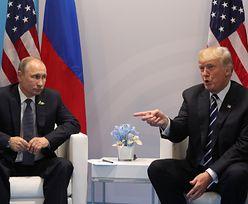 Spotkanie Trumpa i Putina w Berlinie: uściski dłoni, uśmiechy i powłóczyste spojrzenia (ZDJĘCIA)