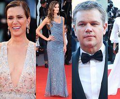 Matt Damon z żoną i gromadka modelek na gali otwarcia festiwalu filmowego w Wenecji (ZDJĘCIA)