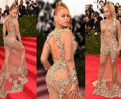 """Pupa Madonny, Anja Rubik bez majtek i """"naked dress"""" Beyonce: zobaczcie NAJODWAŻNIEJSZE kreacje w historii gali MET (ZDJĘCIA)"""
