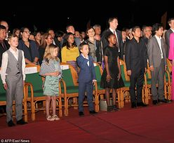 Wychudzona Angelina na premierze w Kambodży (ZDJĘCIA)