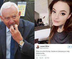 """Leszek Miller chwali się WYTATUOWANĄ wnuczką na Twitterze: """"Niedawno była jeszcze małą dziewczynką"""" (ZDJĘCIA)"""