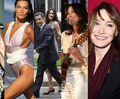 Od supermodelki do byłej Pierwszej Damy Francji i piosenkarki - Carla Bruni kończy dziś 50 lat! (ZDJĘCIA)