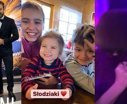 Zakopiański Sylwester celebrytów: Oliwia Bieniuk pozuje z córką Natalii Siwiec, całuśne Katarzyna Warnke i Joanna Horodyńska (FOTO)