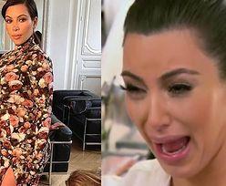 """Kim Kardashian wspomina suknię z MET gali, która wyglądała jak obicie kanapy. """"Płakałam przez całą drogę do domu"""""""