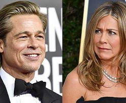 Złote Globy 2020. Brad Pitt wspomniał o randkach. Reakcja Jennifer Aniston bezcenna