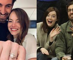 Emma Stone ZARĘCZYŁA SIĘ! Aktorka i jej partner pochwalili się zdjęciem pierścionka (FOTO)
