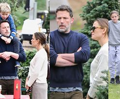Ben Affleck i Jennifer Garner godzą się po ostatniej kłótni podczas poszukiwania idealnego drzewka na święta (ZDJĘCIA)