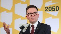 """Najnowszy sondaż dla WP. Szymon Hołownia: """"Mamy realną szansę na wzięcie odpowiedzialności"""""""
