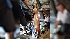 Rzeźby sprzed kilkuset lat na strychu kościoła. Niezwykłe odkrycie na Podkarpaciu