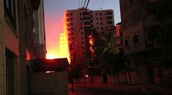 Izrael odpowiada Hamasowi. Runął wieżowiec w Strefie Gazy. Nagranie świadka