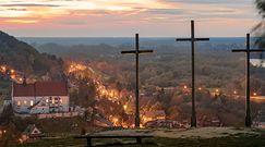 Odkrycie na Górze Trzech Krzyży w Kazimierzu Dolnym. Woda odsłoniła ludzkie kości