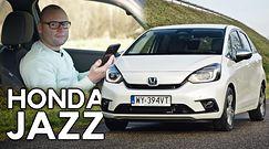 Honda Jazz Hybrid - auto, które nie przeszkadza