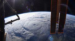 Huragan widziany z Międzynarodowej Stacji Kosmicznej. Wideo zapiera dech w piersiach