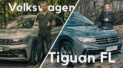 Volkswagen Tiguan FL - zmiany są, ale mało znaczą