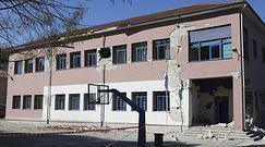 Trzęsienie ziemi w Grecji. Nagranie momentu katastrofy