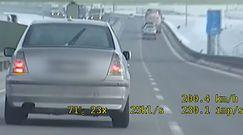 Dramatyczne sceny na autostradzie A4. Nagranie policji