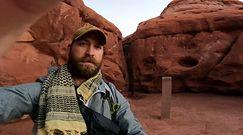 Metalowy monolit na pustyni. Niebywałe nagranie z Utah