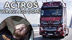Mercedes Actros - ostatnią noc spędziłem w szoferce