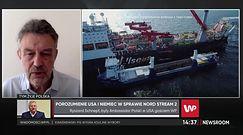 Zielone światło od USA dla Nord Stream 2. Ekspert: ''Polska ma prawo czuć się zaniepokojona''