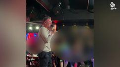 Tak Rafał Brzozowski podbił publiczność w gejowskim klubie (WIDEO)