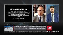 Media bez wyboru. RPO przypomniał słowa Jarosława Kaczyńskiego sprzed 10 lat